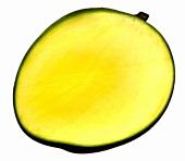 Mango, a piece cut off