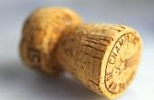 Champagne cork, lying