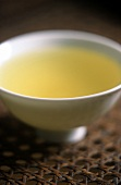 Japanese Sencha Gold tea in bowl