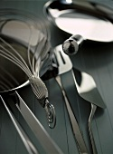 Pans, spatulas and whisks