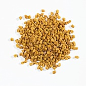 A heap of fenugreek seeds