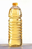 Soya oil in plastic bottle
