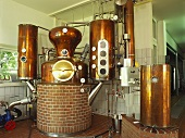 Distillery in Rügen, Germany