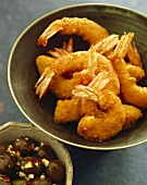 Shrimps in sesame panade