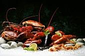Still life with shellfish