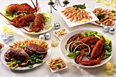Shellfish dishes for Christmas