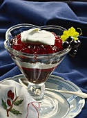 Mecklenburg jelly with blackcurrants