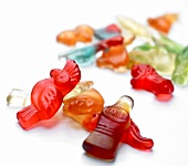 Coloured jelly figures by Haribo