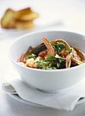 Provencal seafood soup