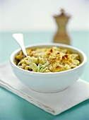 Tortellini bake with courgettes