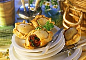 Mini-meat pies with veal filling