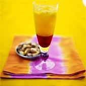 Strawberry and mango drink