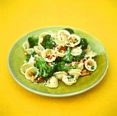 Orecchiette with broccoli and pine nuts