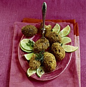 Kubbe or kibbe (Jewish bulgur wheat croquettes)