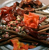 Various Middle Eastern spices