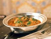 Kheema kofta (spicy meatballs, India)