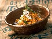 Ven pongal (rice and lentil dish), Karnataka, India