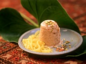 Kulfi (almond ice cream with cardamom, India)
