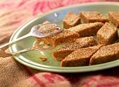 Golpapdi (sweetmeats with cardamom), Rajasthan, India
