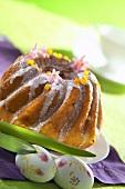 Ring cake for Easter