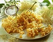 Hollerküchle (Elderflower fritters)