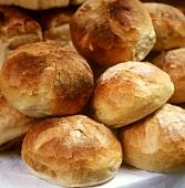White bread at market