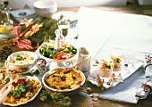 Vegetarian Christmas meal