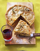 Goose pie with thyme