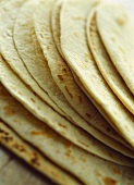 Flatbreads (close-up)