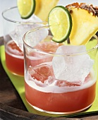 Mexicana: fruity cocktail with Tequila