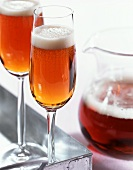 Black Velvet: cocktail with beer and champagne