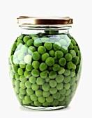 A jar of peas