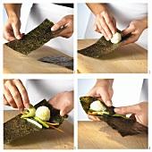 Temaki-Sushi zubereiten