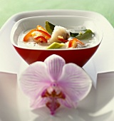 Fish soup with coconut milk (Thailand)