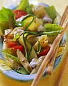 Insalata di pasta con zucchini e pomodori (Pasta salad)