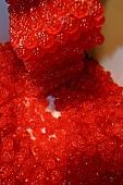 Herstellung von roten Fruchtbonbons
