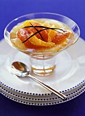 Citrus fruit compote with vanilla