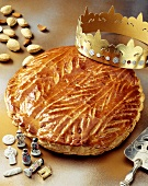 Puff pastry pie for Twelfth Night (Galette des Rois)