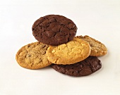Two Types of Cookies: Chocolate and Nut Cookies
