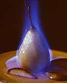 A Flaming Pear