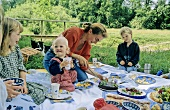 Picnic with children