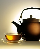 Tea in Pot and Cup