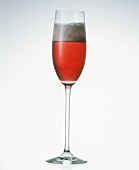 A glass of Kir Royal
