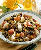 Caponata (sweet & sour marinated vegetables), Sicily, Italy