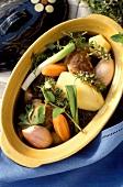 Alsatian stew (Baeckeoffe)