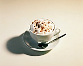 A Single Cup of Capuccino