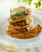 Crab millefeuille
