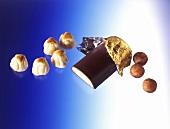 Marzipan balls (Bethmännchen), marzipan bar & marzipan potatoes