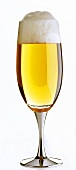 A glass of non-alcoholic beer