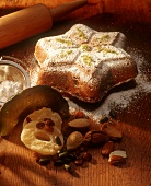 Quark stollen in the shape of a star